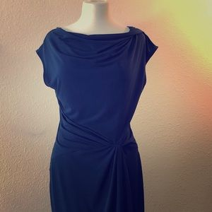 Navy blue jersey Michael Kors dress